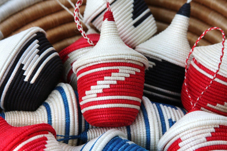 Miniature Basket Ornaments